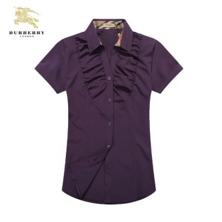 Chemise Burberry Femme Manches Courtes Outlet