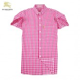 Chemise Burberry Homme Rose Manches Courtes Europe
