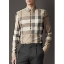 Chemise Burberry Homme a carreaux Manches Longue Magasin Lille