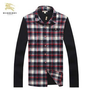 Chemise Burberry Homme Multicolor Manches Longue Magasin Usine
