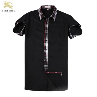 Chemise Burberry Homme Noir Manches Courtes Magasin Lille