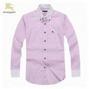 Chemise Burberry Homme Rose Manches Longue Magasin France