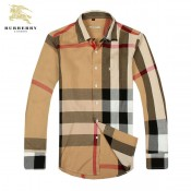 Chemise Burberry Homme Gris Manches Longue Outlet Online