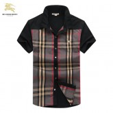 Chemise Burberry Homme Manches Courtes Outlet