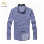 Chemise Burberry Homme Bleu Manches Longue Europe