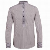 Chemise Lacoste Homme Manches Longue Blanc Magasin Usine