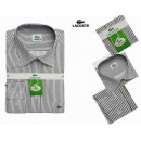 Chemise Lacoste Homme Manches Longue Gris unies Magasin France