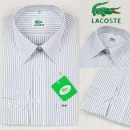 Chemise Lacoste Homme Manches Longue rayees Pas Chers
