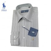 2017 Chemise Polo Ralph Lauren Homme rayees Manches Longue Achat Pas Cher