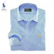 Chemise Polo Ralph Lauren Homme Manches Longue rayees Magasin Paris