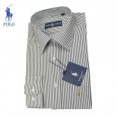 Chemise Polo Ralph Lauren Homme rayees Manches Longue Outlet