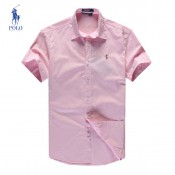 Chemise Polo Ralph Lauren Homme Rose Manches Courtes Magasin