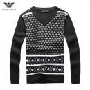 Pull Armani Homme Blanc Multicolor Pas Chere