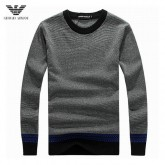 Pull Armani Homme Col rond Manches Longue Rayures Boutique