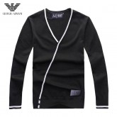 Pull Armani Homme Noir Outlet Online