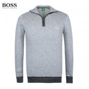 2017 Pull Boss Homme Pures Couleurs Manches Longue Col Polo Outlet France