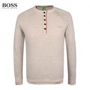 Pull Boss Homme Gris Nouvelle Collection