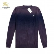 Pull Burberry Homme Col rond Pourpre Pas Chere