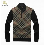 Pull Burberry Homme Col montant Magasin D Usine