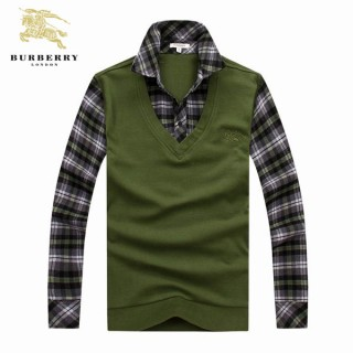 Pull Burberry Homme Col Polo Manches Longue Usine