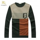 Pull Burberry Homme Col rond En Solde