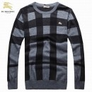Pull Burberry Homme Col rond Manches Longue Magasin Usine