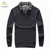 Pull Burberry Homme Col V Manches Longue Magasins