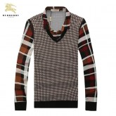 Pull Burberry Homme Multicolor Col Polo Boutique