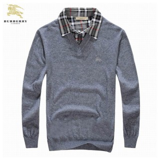 Pull Burberry Homme Pures Couleurs Col V Acheter Pas Cher
