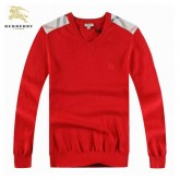 Pull Burberry Homme Rouge Marque Pas Cher