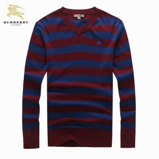 Pull Burberry Homme Rouge Multicolor Pas Cher Solde