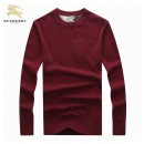 Pull Burberry Homme Rouge Pures Couleurs Paris
