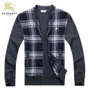 2017 Gilet Burberry Homme Col montant Pas Cher
