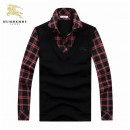 2017 Pull Burberry Homme Multicolor Soldes Pas Cher