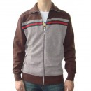 Gilet Gucci Homme Col Polo Marron France Pas Cher