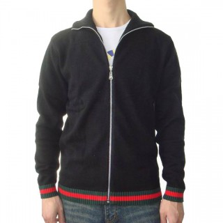 Gilet Gucci Homme Col Polo Manches Longue Europe