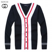 Gilet Gucci Homme Multicolor Manches Longue Col V Soldes