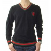 Pull Gucci Homme Col V Pures Couleurs Soldes Boutique