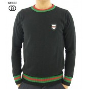 Pull Gucci Homme Manches Longue Col rond Pures Couleurs Pas Cher