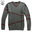 Pull Gucci Homme Manches Longue Col V Pas Cher France