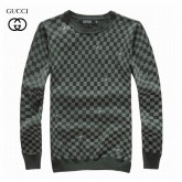 Pull Gucci Homme Vert Carree Manches Longue France
