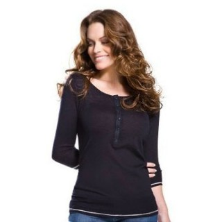 Pull Lacoste Femme Manches Longue Col rond Gris Magasin D Usine