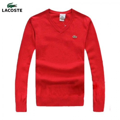 468f2642b3 2017 Pull Lacoste Homme Col V Manches Longue Pures Couleurs Acheter