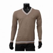 Pull Lacoste Homme Col V Manches Longue Pures Couleurs Prix