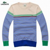 Pull Lacoste Homme Multicolor Col rond Magasins