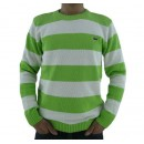 Pull Lacoste Homme Col rond Vert Pas CheRe