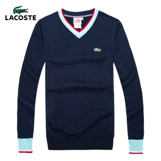 Pull Lacoste Homme Col V Pas Chers