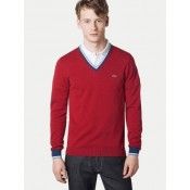 Pull Lacoste Homme Rouge Boutique Paris