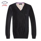 Pull Paul et Shark Homme Pures Couleurs Col V Outlet