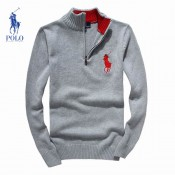 2017 Pull Polo Homme Manches Longue Logos Acheter